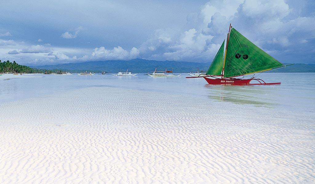 Desplazamiento en Barco. Filipinas