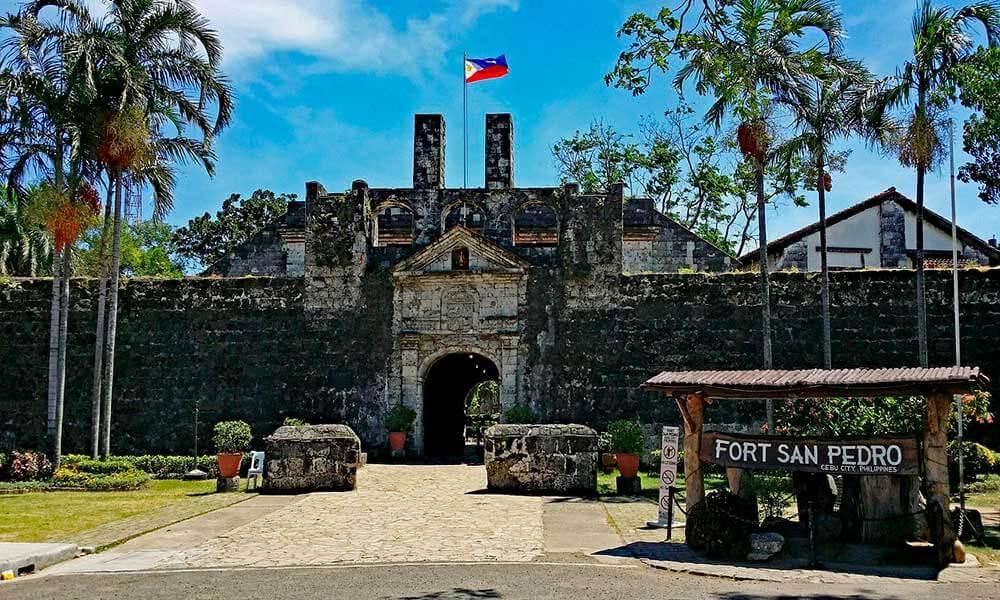 Historia de Filipinas Fuerte de San Pedro