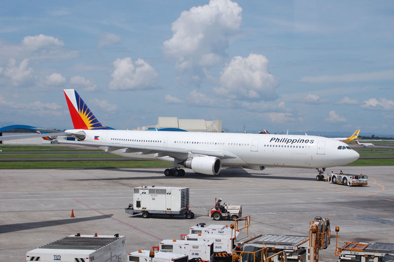 Vuelo interno con Philippine Airline