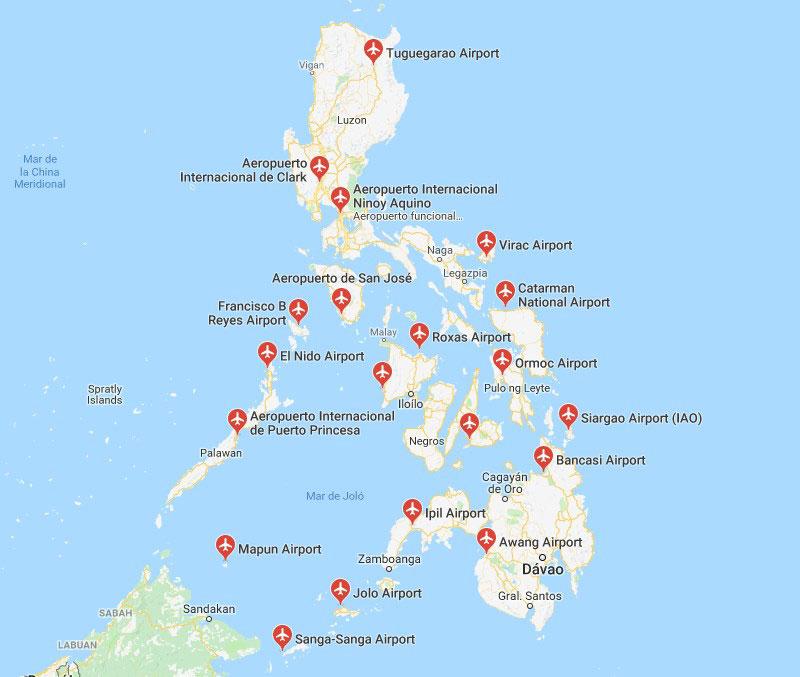 Aeropuertos Filipinos