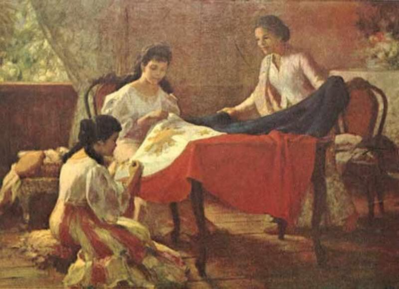 Bandera Filipina - Historia