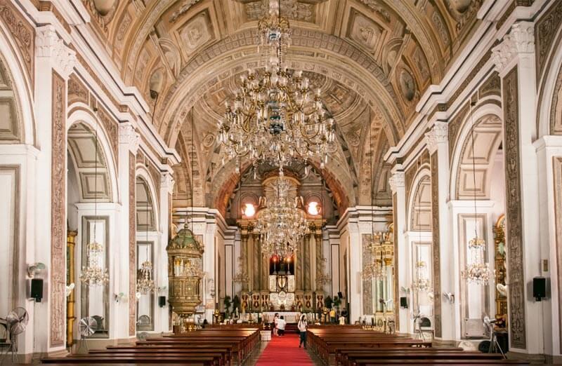 Iglesia en Manila - San Agustin