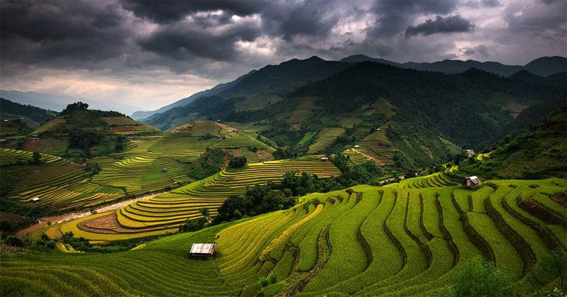 Tiempo Nublado en las Islas Filipinas