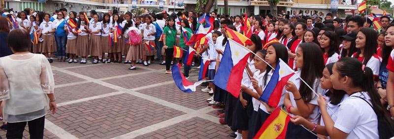 Autoridades Españolas - Homeje a los Ultimos de Filipinas